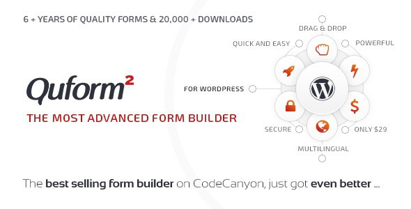 QuForms - Advanced Form Builder for WordPress
