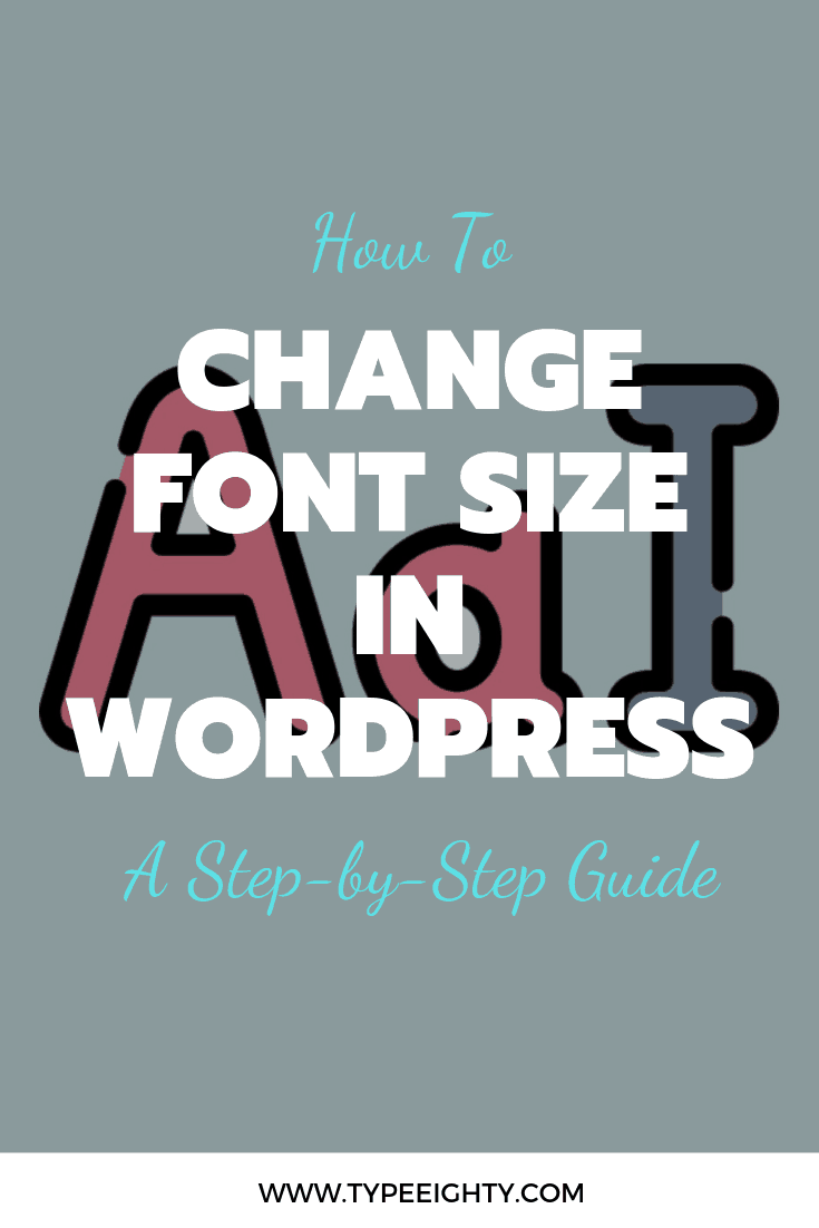 Do you want to change font size in WordPress posts and pages? You don't have to worry about it anymore. In this post, I'm going to show you how exactly 4 methods to change your font size in WordPress — step-by-step.
