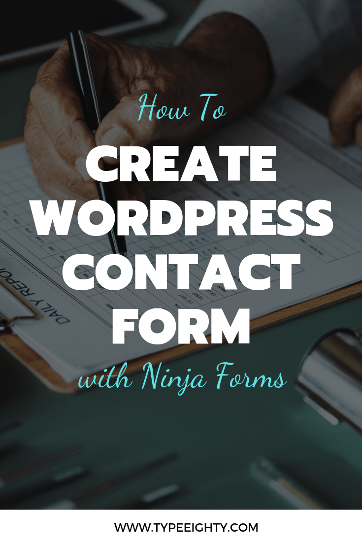 A contact form is a great way to offer your readers the ability to get in touch with your visitors and build a connection. But the default WordPress contact form is plain boring. It doesn't prompt people to contact you or simply drop you a message. In other words, it lacks a personal touch.In this article, you'll learn how to create an engaging contact form for WordPress with Ninja Forms.
